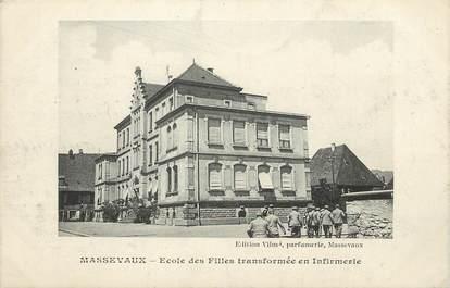 """/ CPA FRANCE 68 """"Massevaux, école des filles transformée en infirmerie"""""""