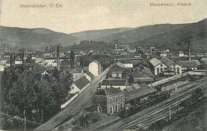 "/ CPA FRANCE 68 ""Massevaux"" / GARE"