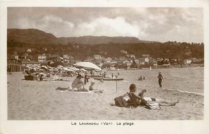 """CPSM FRANCE 83 """"Le Lavandou, La Plage"""""""