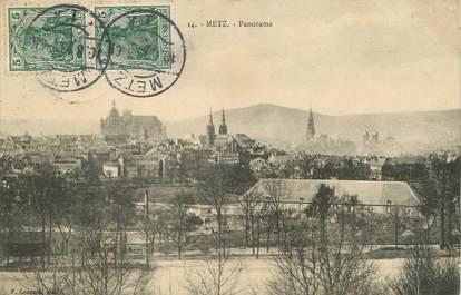 """/ CPA FRANCE 57 """"Metz, panorama"""""""