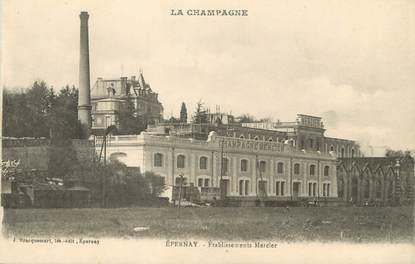 "/ CPA FRANCE 51 ""Epernay, établissements Mercier"""