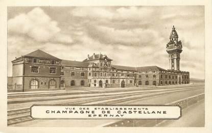 "/ CPA FRANCE 51 ""Epernay, champagne de Castellane"""
