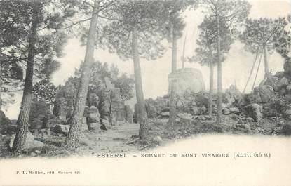 "/ CPA FRANCE 06 ""Esterel, sommet du mont Vinaigre"""
