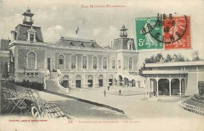 "/ CPA FRANCE 65 ""Bagnères de Bigorre, le casino"""