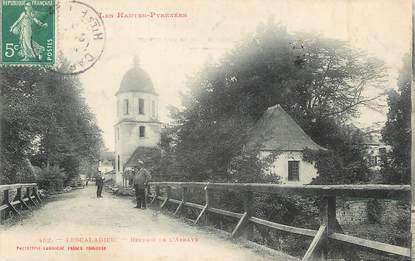 """/ CPA FRANCE 65 """"Lescaladieu, Beffroi de l'Abbaye"""""""