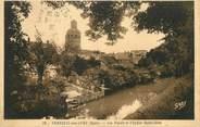 """27 Eure / CPA FRANCE 27 """"Verneuil sur Avre, les fossés et l'église Saint Jean"""""""
