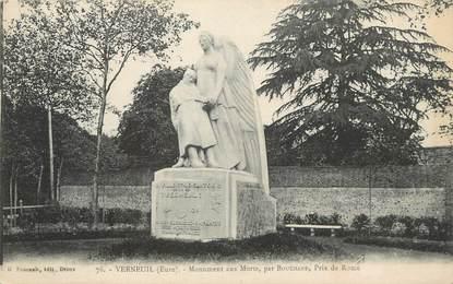 """/ CPA FRANCE 27 """"Verneuil sur Avre, monument aux morts"""""""