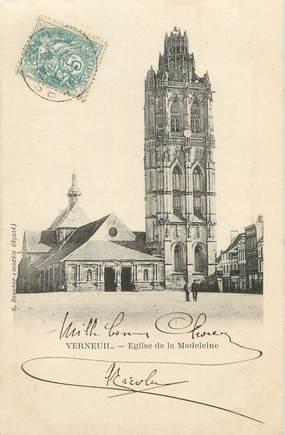 """/ CPA FRANCE 27 """"Verneuil, église de la Madeleine"""""""