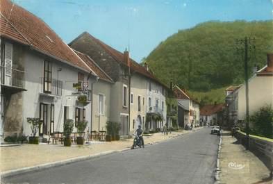 """/ CPSM FRANCE 25 """"Beure, la rue de Besançon"""""""