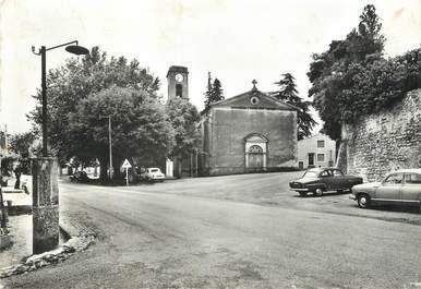 """/ CPSM FRANCE 26 """"Montoison, place de l'église"""""""