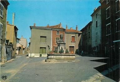 """/ CPSM FRANCE 63 """"Saint Germain Lembron, place des jardiniers"""""""