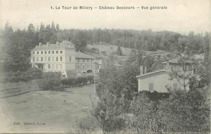 """/ CPA FRANCE 69 """"La Tour de Millery, château Descours"""""""