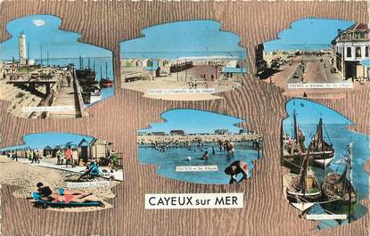 """/ CPSM FRANCE 80 """"Cayeux sur Mer"""""""