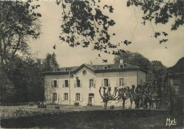 """/ CPSM FRANCE 87 """"Saint Junien, façade du château du Châtelard"""""""