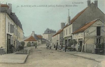 """/ CPA FRANCE 03 """"Saint Pourçain sur Sioule, faubourg Maison Dieu"""""""