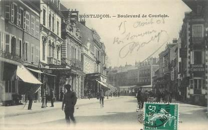 """/ CPA FRANCE 03 """"Montluçon, Boulevard de Courtais"""""""