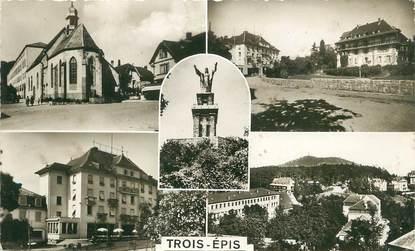 """/ CPA FRANCE 68 """"Trois Epis, chapelle, centre de repos, Galz, vue générale"""""""