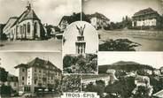 """68 Haut Rhin / CPA FRANCE 68 """"Trois Epis, chapelle, centre de repos, Galz, vue générale"""""""