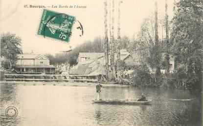 """/ CPA FRANCE 18 """"Bourges, les bords de l'Auron"""""""