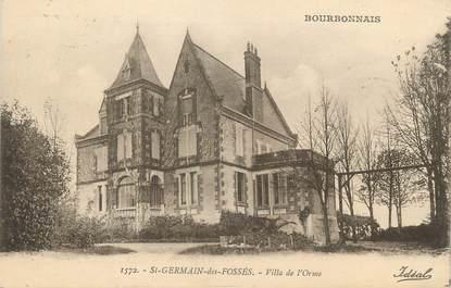 """/ CPA FRANCE 03 """"Saint Germain des fossés, villa de l'Orme"""""""