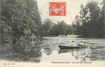 """/ CPA FRANCE 94 """"Fontenay sous Bois, le lac des Minimes"""""""