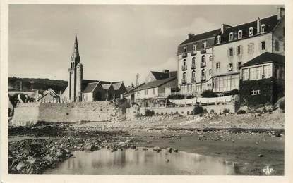 """/ CPSM FRANCE 22 """"Saint Michel en Grève, la plage"""""""