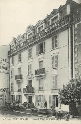 """/ CPA FRANCE 63 """"La Barboule, grand hôtel de la Barboule"""""""