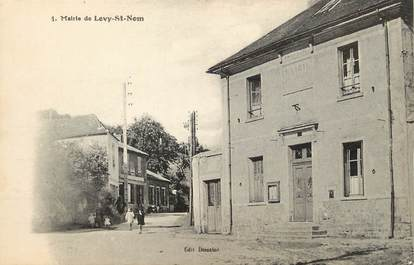 "/ CPA FRANCE 78 ""Mairie de Levy Saint Nom"""