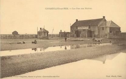 """/ CPA FRANCE 14 """"Courseulles sur Mer, les parcs aux huitres"""""""