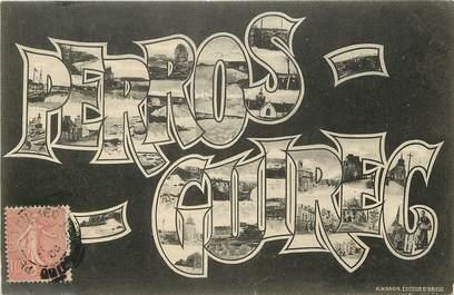 """CPA FRANCE 22 """"Perros Guirec"""" / Nom de la ville"""