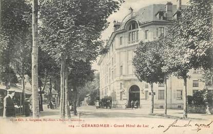 """CPA FRANCE 88 """"Gérardmer, Grand Hotel du Lac"""""""