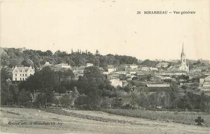 """/ CPA FRANCE 17 """"Mirambeau, vue générale"""""""