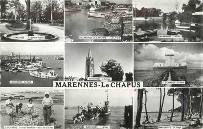 """/ CPSM FRANCE 17 """"Marennes Le Chapus"""""""