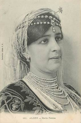 "CPA ALGERIE ""Alger, belle Fatma"""
