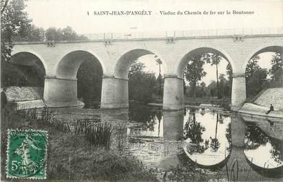 """/ CPA FRANCE 17 """"Saint Jean d'Angély, viaduc du chemin de fer sur la boutonne"""""""