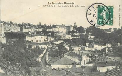 """CPA FRANCE 55 """"Bar le Duc, vue générale de la Ville Haute"""""""