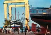 """62 Pa De Calai / CPSM FRANCE 62 """"Etaples, port de pêche"""" / BATEAU"""
