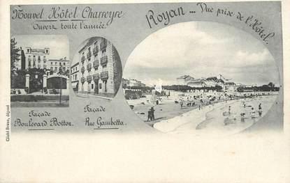 """/ CPA FRANCE 17 """"Royan, Vue prise de l'hôtel"""""""