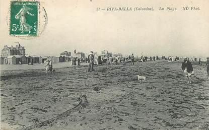 """CPA FRANCE 14 """"Riva Bella, la Plage"""""""
