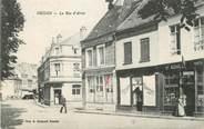 "62 Pa De Calai / CPA FRANCE 62 ""Hesdin, la rue d'Arras"""