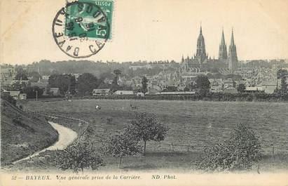 """CPA FRANCE 14 """"Bayeux, vue générale prise de la Carrière"""""""