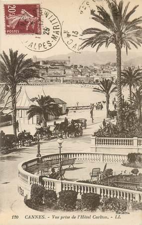"""CPA FRANCE 06 """"Cannes, vue prise de l'Hotel Carlton"""""""