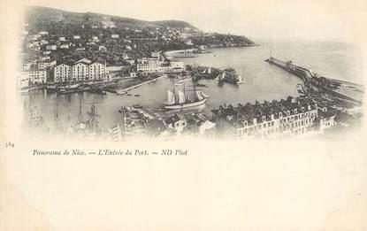 """CPA FRANCE 06 """"Nice, l'entrée du Port"""""""