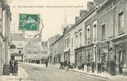 """72 Sarthe / CPA FRANCE 72 """"Sillé le Guillaume, place Saint Etienne, et rue du coq Hardi"""""""