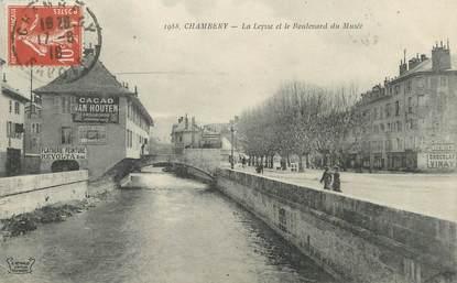 """/ CPA FRANCE 73 """"Chambéry, la Leysse et le boulevard du musée"""""""