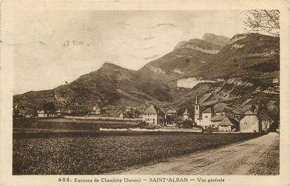 "CPA FRANCE 73 ""Saint Alban, env. de Chambéry"""