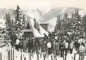 """73 Savoie / CPSM FRANCE 73 """"Courchevel, la messe des skieurs"""""""