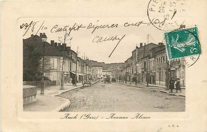 "CPA FRANCE 32 ""Auch, Avenue Alsace"""