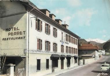 """/ CPSM FRANCE 73 """"Aigueblanche, hôtel Perret"""""""