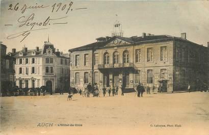 """CPA FRANCE 32 """"Auch, Hôtel de ville"""""""